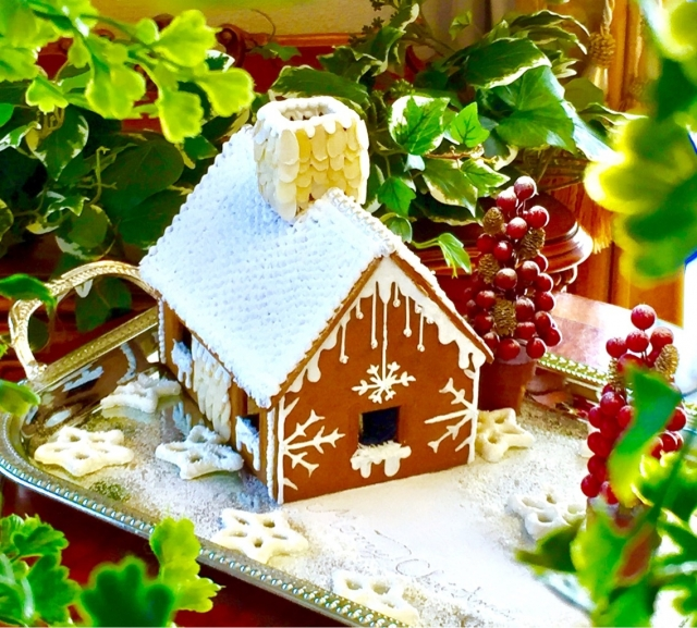 お菓子の家を作ろう!